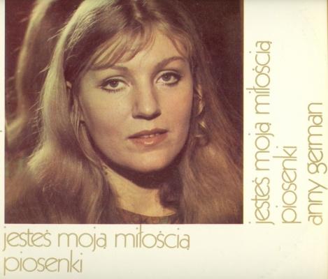 ANNA GERMAN - Jestes Moja Mitoscia Piosenkoi - 12 inch 33 rpm